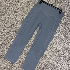 Lululemon All The Right Places Gray Crop Legging